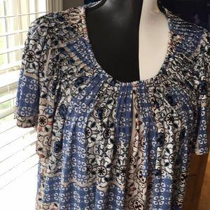 2x Style & Co short sleeve tunic